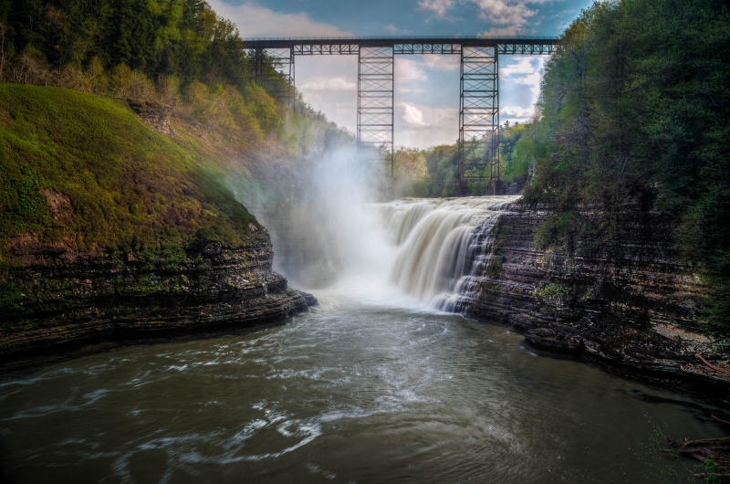 Letchworth State Park High Falls