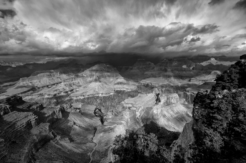 Storm Coming My Way – Hopi Point, South Rim- Grand Canyon National Park