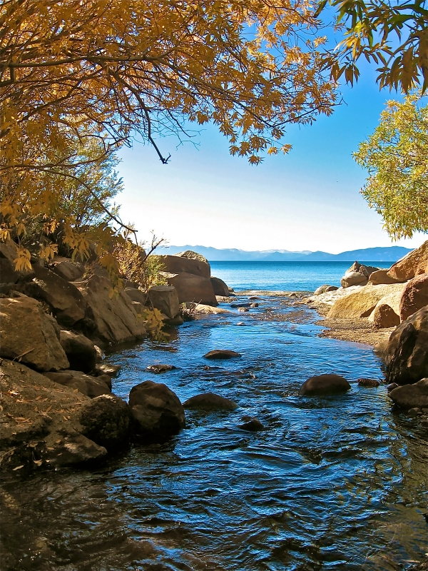 Lake Tahoe In October