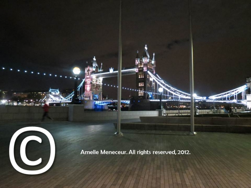 London Bridge At Night – London – Uk