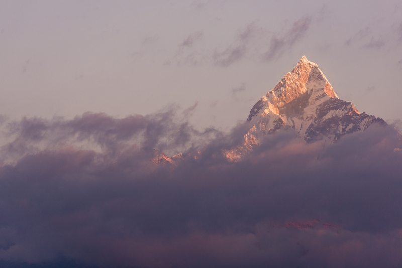 First Light On The Annapurna