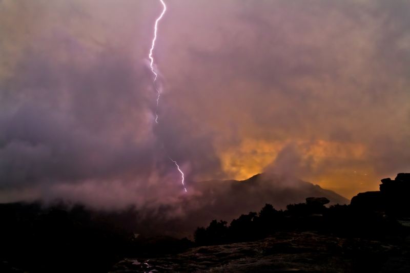 Mount Lemmon Lightning