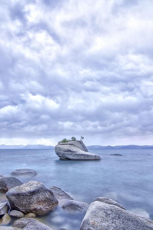 Between A Bonsai Rock And A Busted Flip-flop.
