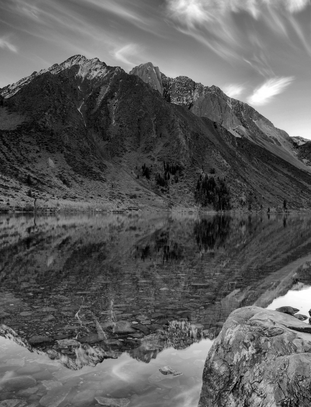Convict Lake Sunset