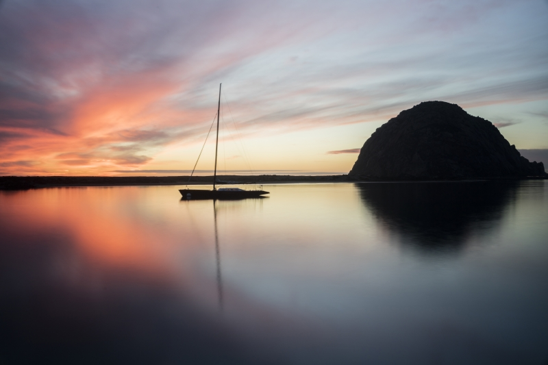 Peace And Quiet At Morro Bay