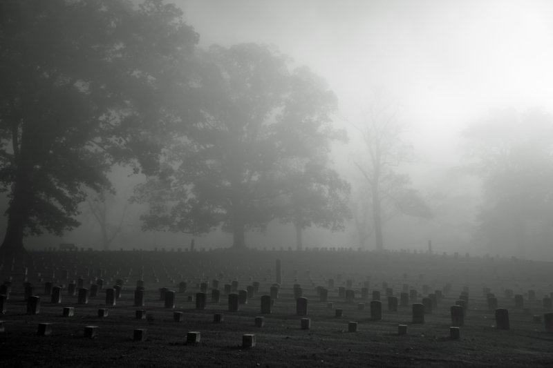 Cemetary At Shiloh Battlefield