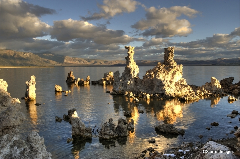 Mono Lake Tuffas At Dawn