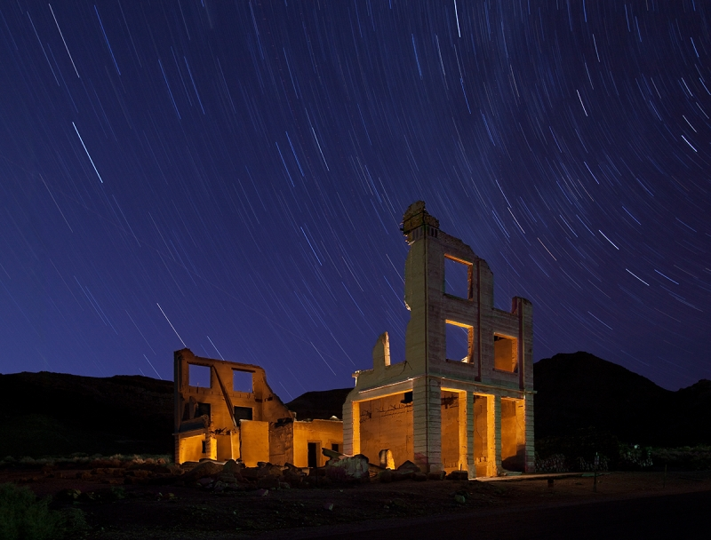 Cook Bank Building, Rhyolite Ghost Town