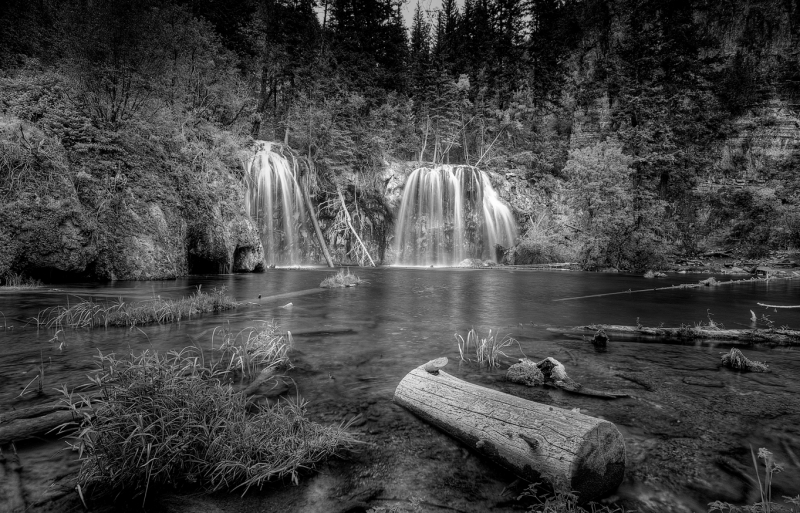 Two Falls At Hanging Lake