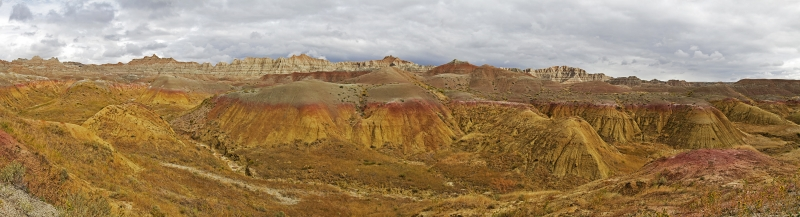 Painted Hills Joined By The Badlands