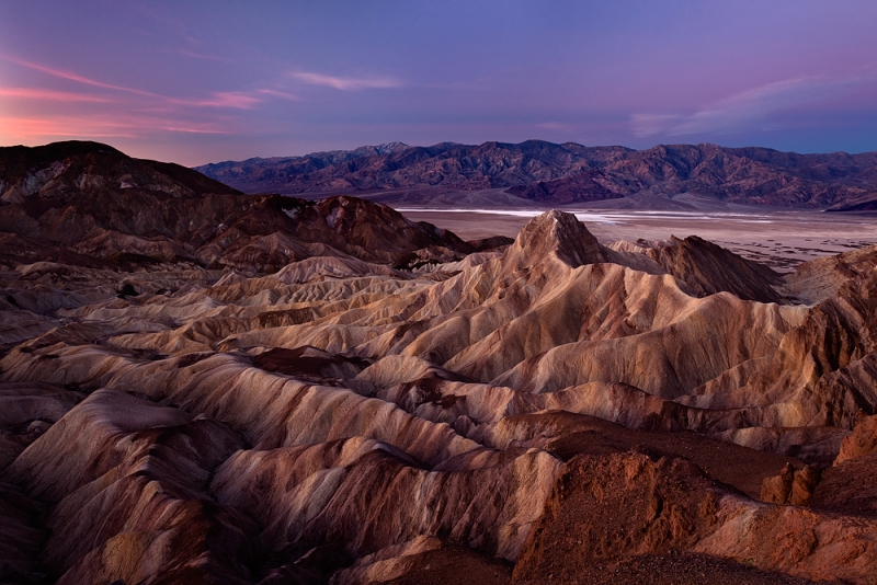 Morning Twilight, Zabriskie Point