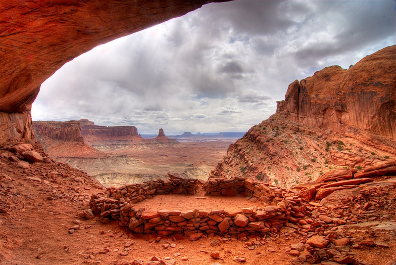 False Kiva – Canyonlands Np