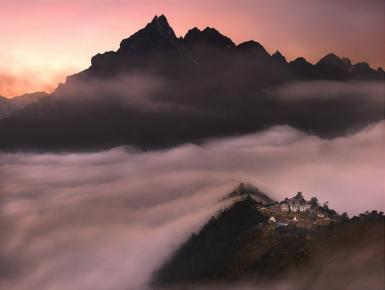 Tengboche. The Monastery Of The Clouds
