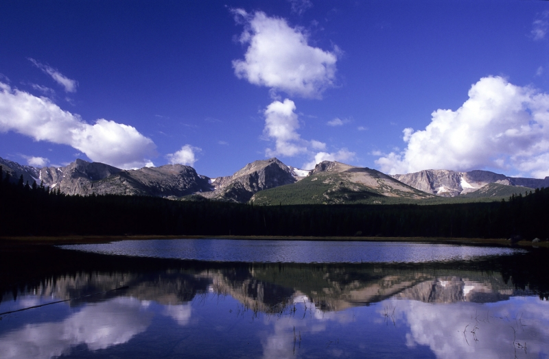 Clouds Over Bierstadt Lake