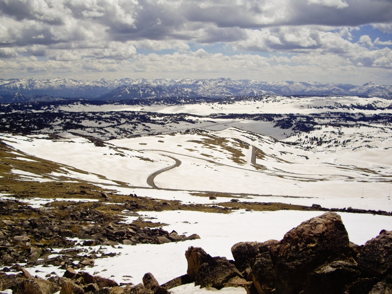 Wide Open Spaces Of Beartooth Highway Montana