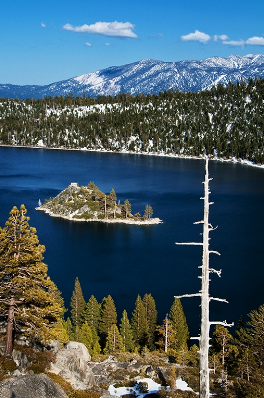 Emerald Bay Winter