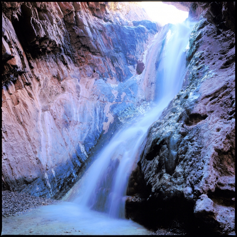 Travertine Creek Waterfall