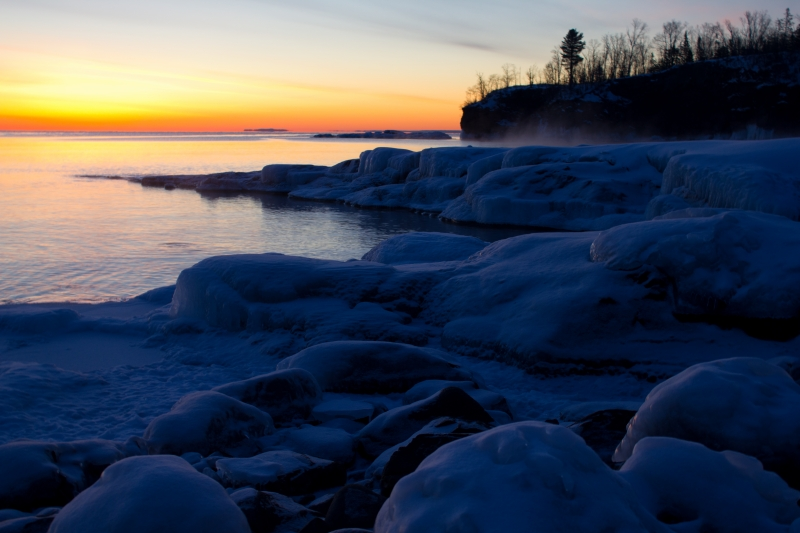 Frozen Shore