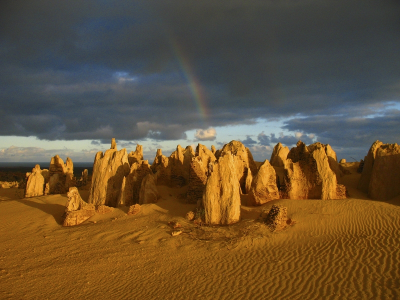 Sunrise At The Pinnacles Desert