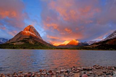 Swift Current Lake, Glacier Np