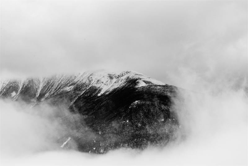 Mt. Washington Through The Fog