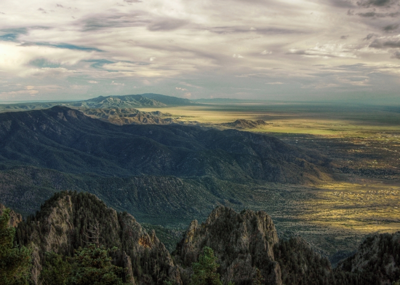 Sandia Mountain View