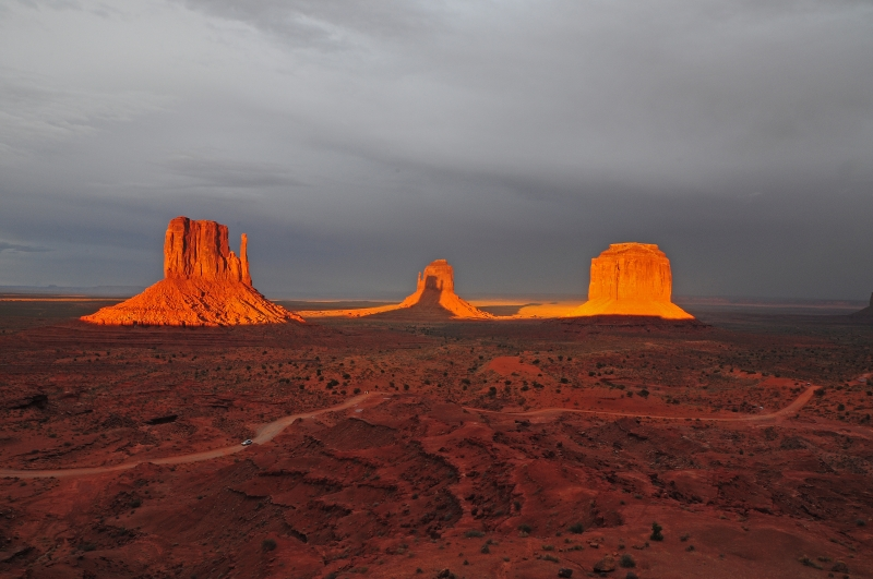 Magic Time At Monument Valley
