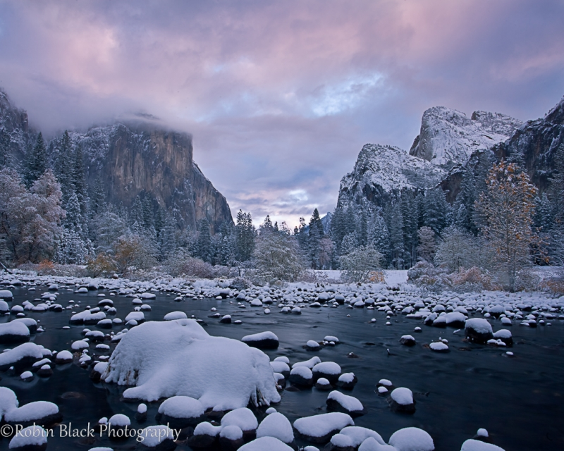 Winter Sunrise, Gates Of The Valley
