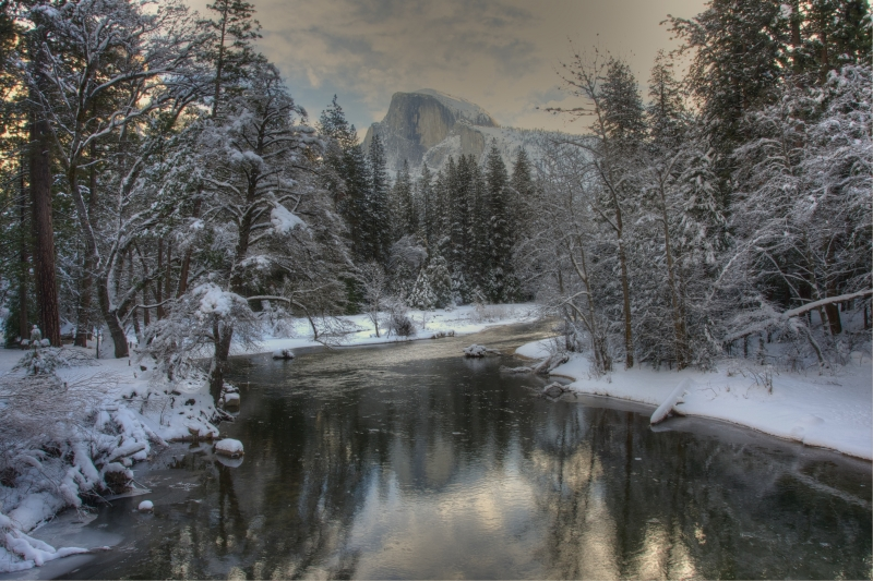 Frosted Half Dome