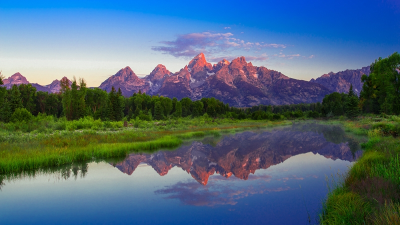 Grand Teton Alpenglow