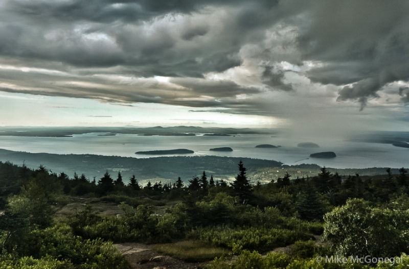 Storm Over Cadillac Mountain