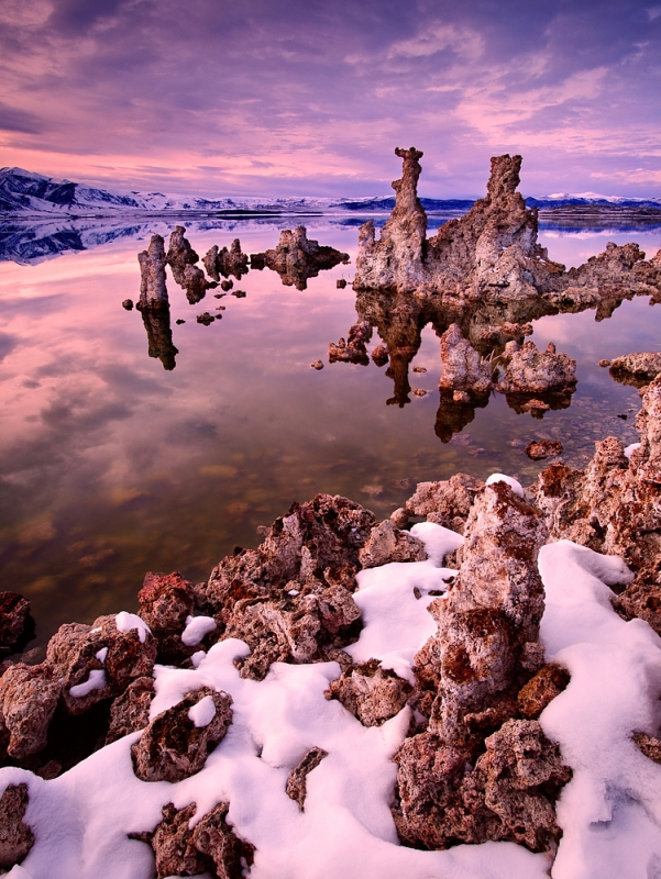 Sierra Sunset, Mono Lake, California
