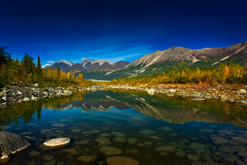 Autumn Reflections – Wrangell – St. Elias Park
