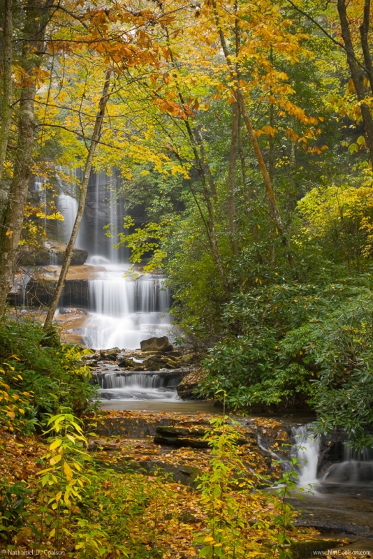 North Carolina Waterfalls