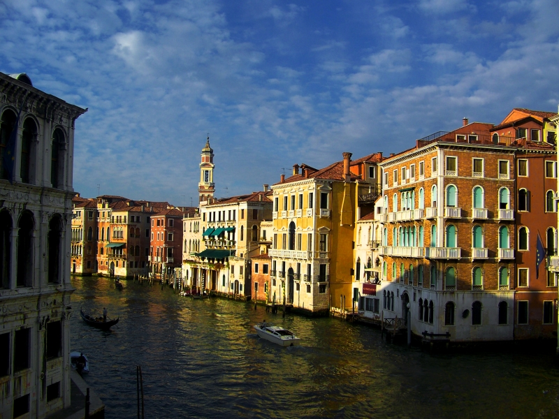 Quiet Afternoon In Venice