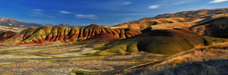 Painted Hills In John Day Fossil Beds National Monument
