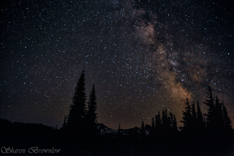 Milkyway Over The Tatoosh