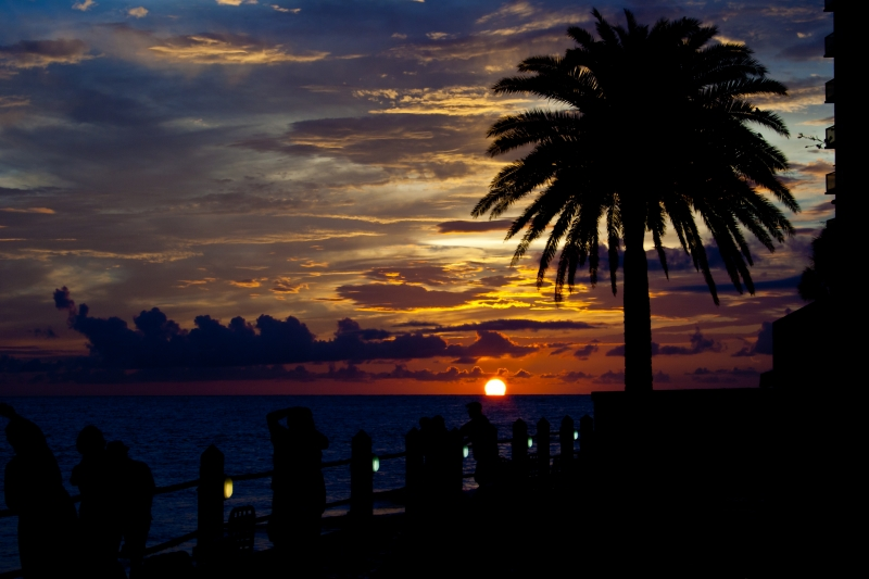 Sunset At Clearwater Beach Florida