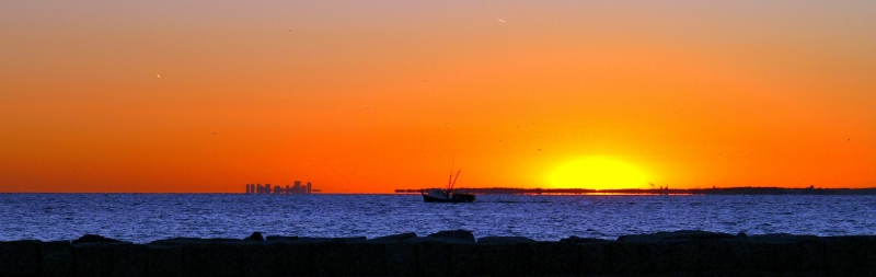 Gloucester Harbor Sunset