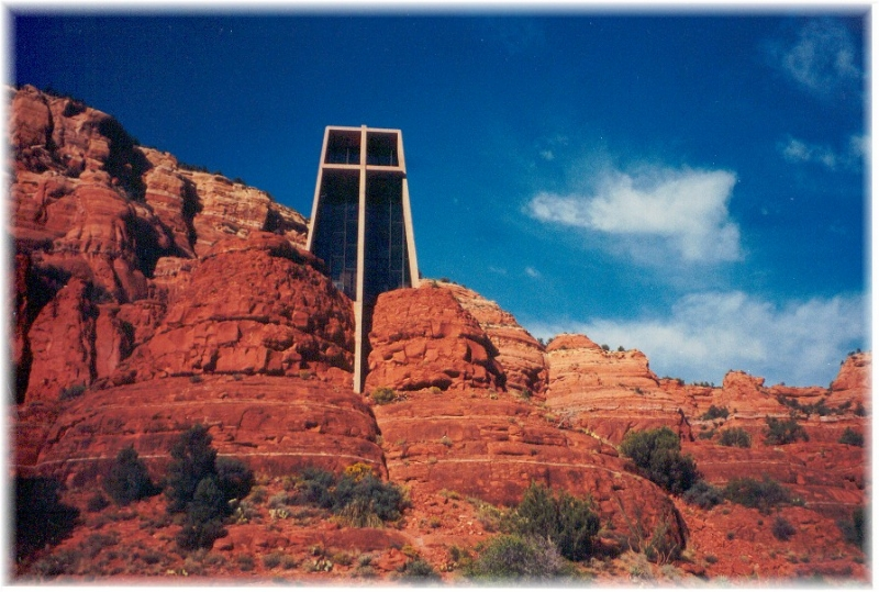 Chapel In The Red Rocks