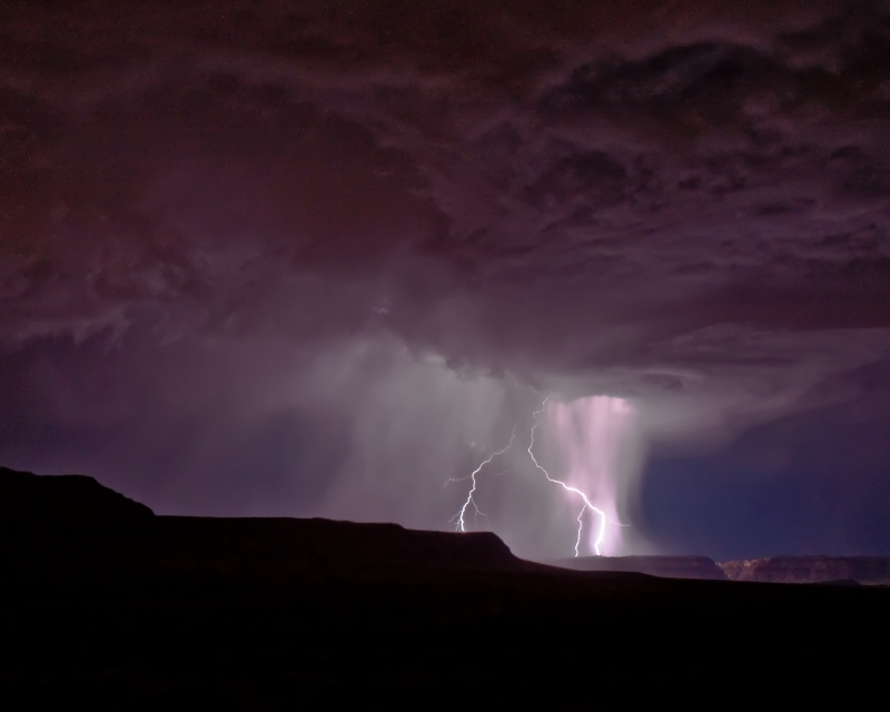 Warner Valley Utah Lightning