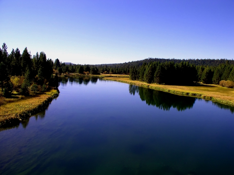 Reflections On The Deschutes