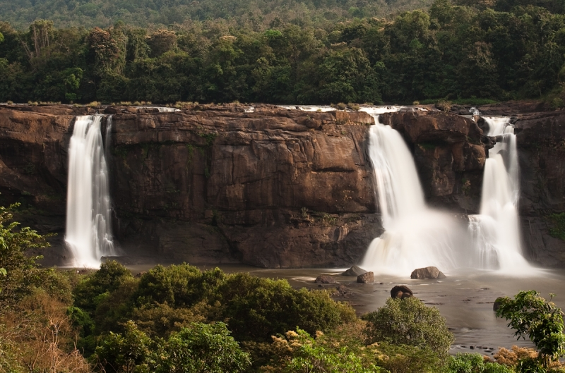 The Athirapally Waterfalls