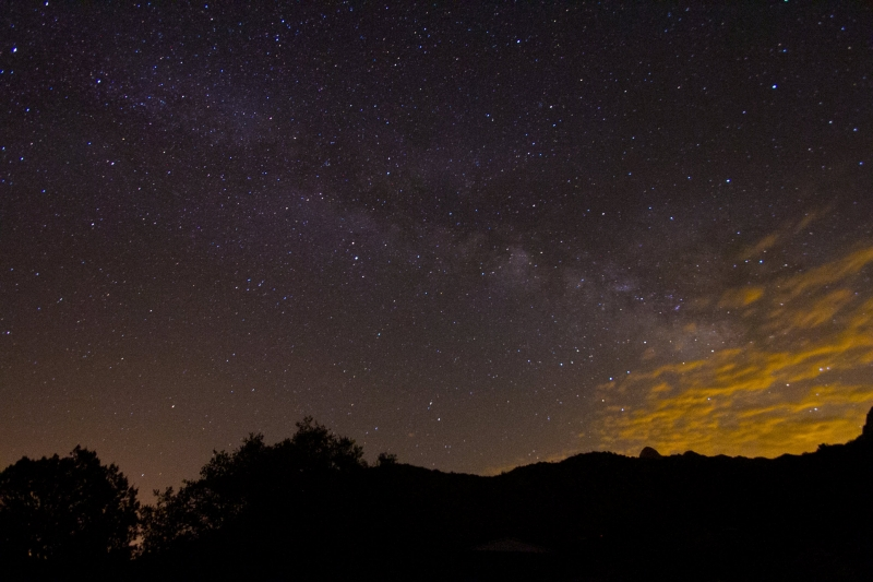 Milky Way Over El Paso