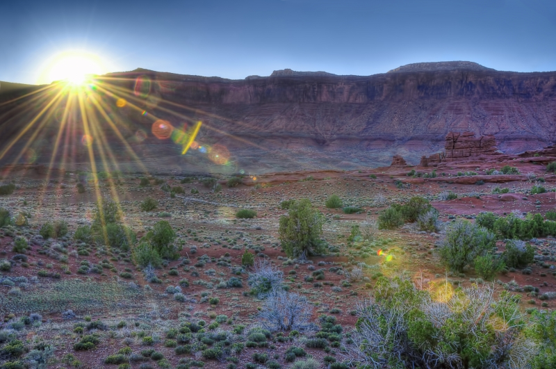 Moab In The Morning