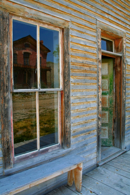 Ghost Town Reflections