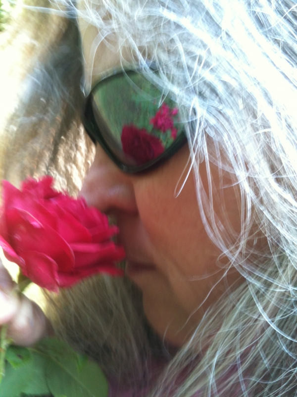 Smelling The Rose