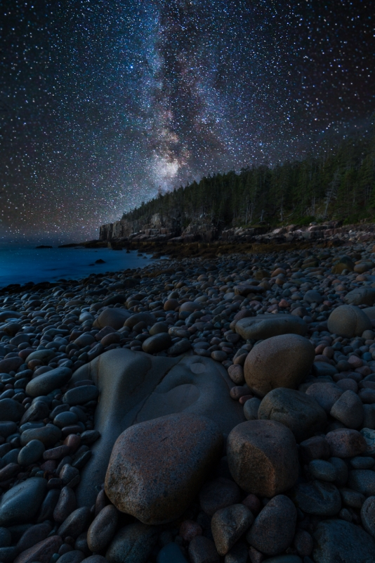 Otter Cliff Milky Way
