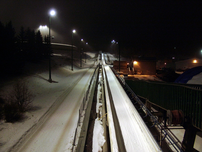 Luge Track – Canada Olympic Park – Calgary