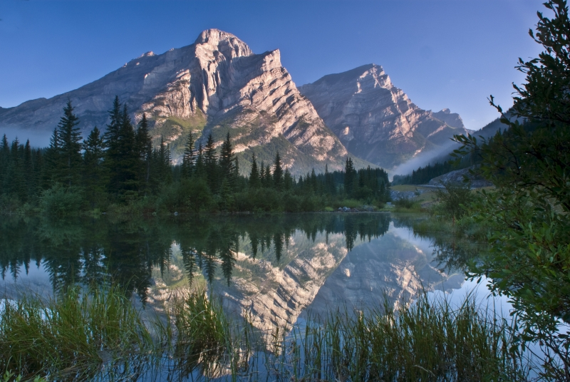 Mount Kidd Reflection